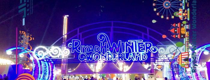 Riyadh Winter Wonderland is one of Orte, die Feras gefallen.