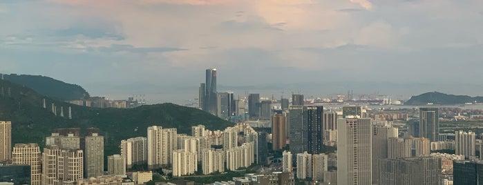 Marriott Hotel Shenzhen Nanshan 深圳中洲万豪酒店 is one of Capoeira 님이 저장한 장소.