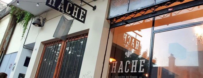 Hache Almacén is one of posibles lugares a ir.