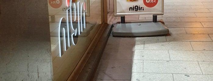 Nigiri is one of Lugares favoritos de Ro.