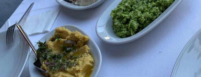 "Mylos Balık ""Ayvalık Cunda Mutfağı"" is one of Lugares favoritos de Fatma."