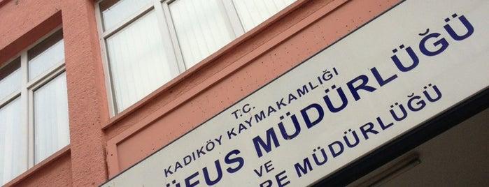 Kadıköy İlçe Nüfus Müdürlüğü is one of Semin 님이 좋아한 장소.