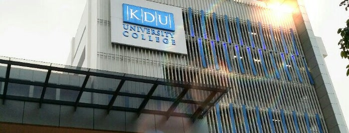 KDU University College Utropolis is one of Surinder'in Beğendiği Mekanlar.