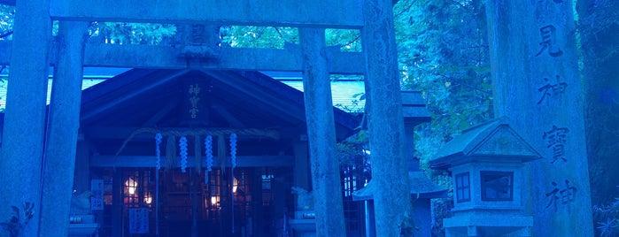Fushimi Kandakara Shrine is one of Lieux qui ont plu à Saejima.
