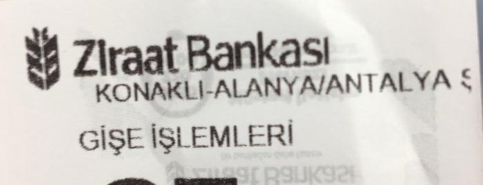 T.C. Ziraat Bankası Konaklı Şubesi is one of Adam'ın Beğendiği Mekanlar.