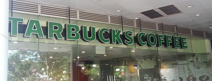 Starbucks is one of Singapore: business while travelling.