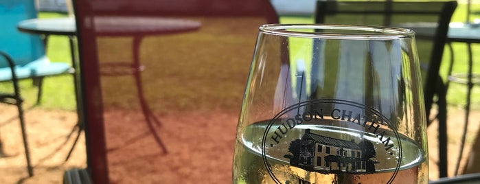 Hudson-Chatham Winery is one of adventures outside nyc.