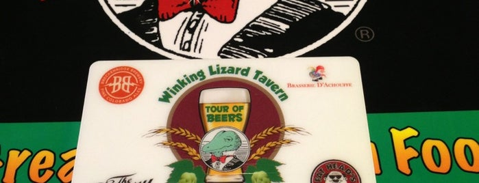 Winking Lizard Tavern is one of Columbus.