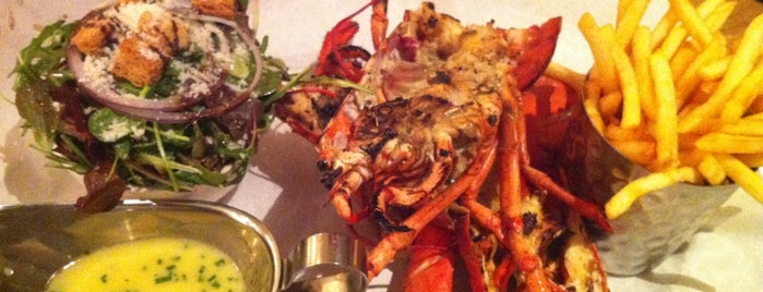 Burger & Lobster is one of Shanshan 님이 좋아한 장소.