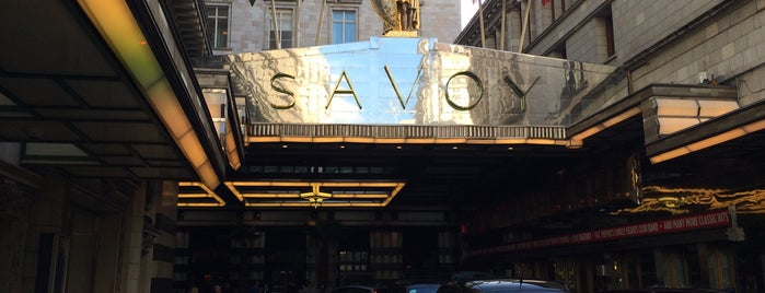 The Savoy Hotel is one of Lieux qui ont plu à MAQ.