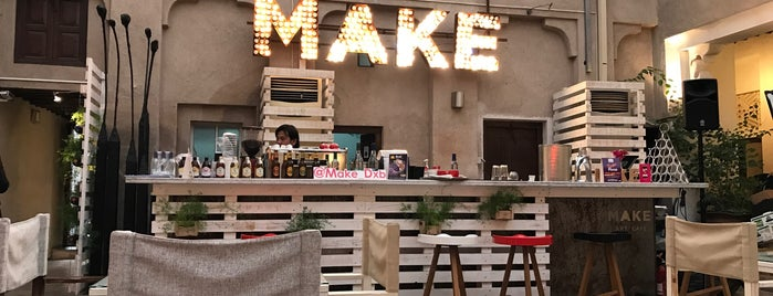 MAKE Art Cafe is one of The Ultimate Guide to Dubai.