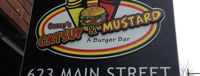 Corey's Catsup and Mustard is one of Hartford Burger Joints.
