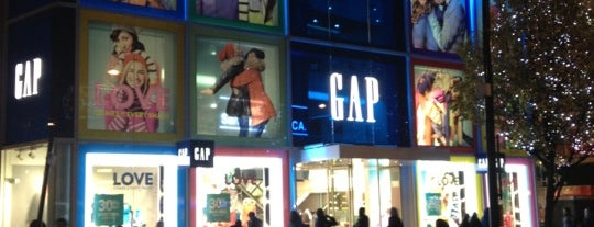 Gap is one of London shopping..