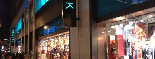 Primark is one of London لندن.