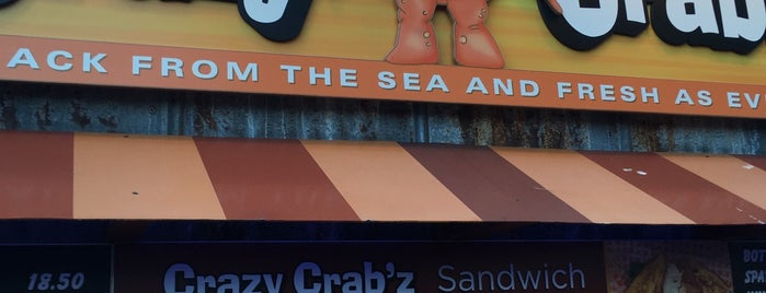 Crazy Crab'z is one of Locais salvos de Shelya.