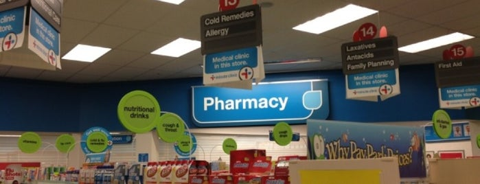 CVS pharmacy is one of สถานที่ที่ David ถูกใจ.