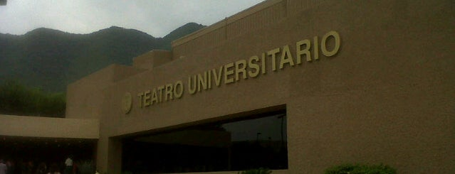 Teatro Universitario (UANL) is one of Locais curtidos por Alberto.