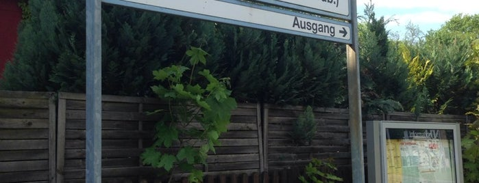Bahnhof Sachsenhausen (Nordb) is one of Berlin.