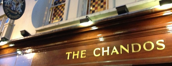 The Chandos is one of London March 2014.