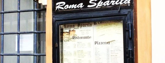 Roma Sparita is one of Dot eats Rome.