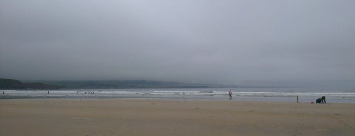 Lahinch Beach is one of Clare.