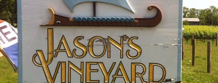Jason's Vineyard is one of North Fork Wine Trail.