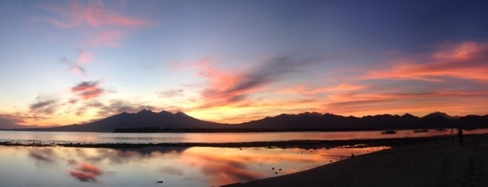 Sunrise Point is one of Gili + Lombok.