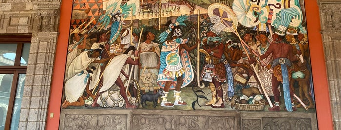 Murales de Diego Rivera en la Secretaría de Educación Pública is one of 🇲🇽 México DF.