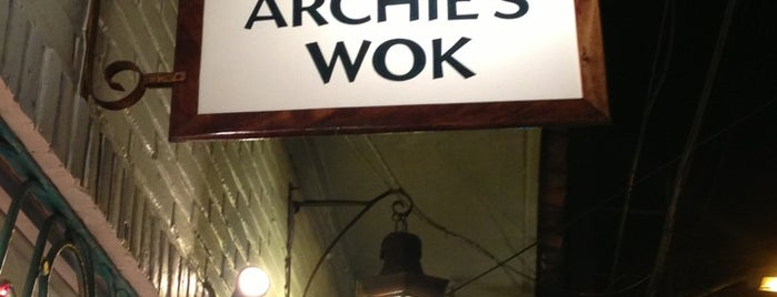 Archie's Wok is one of PV.