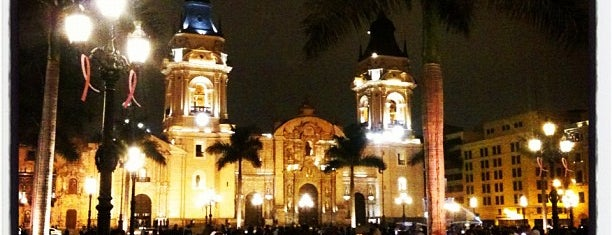 Iglesia Basílica Catedral Metropolitana de Lima is one of Peru.