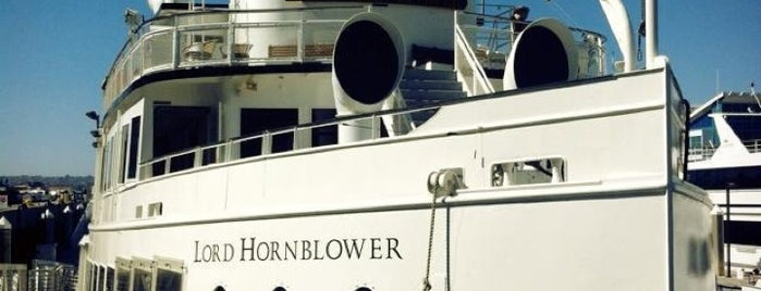 Hornblower Cruises & Events is one of Posti che sono piaciuti a Joey.