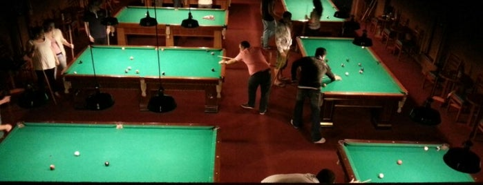 Atlanta Snooker Bar is one of Tempat yang Disukai Alisson.