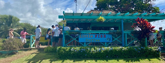 Little Fish Coffee is one of Kauai.