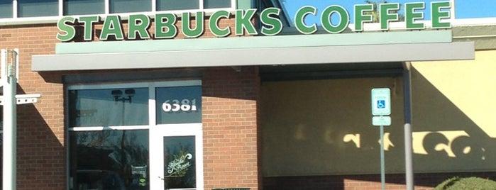 Starbucks is one of Tosha : понравившиеся места.