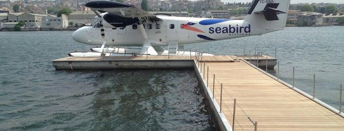 Seabird Haliç Terminali is one of สถานที่ที่ Nihan özge ถูกใจ.