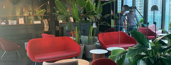 citizenM cloudbar is one of Rooftop NY.