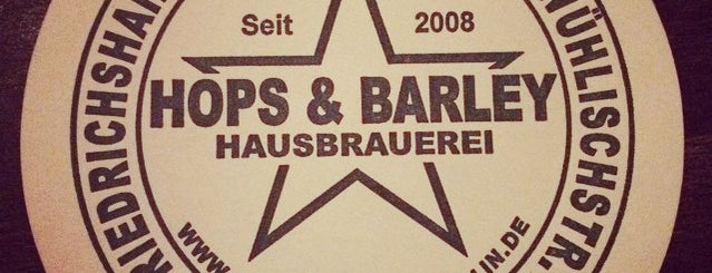 Hops & Barley is one of Food & Fun - Berlin.