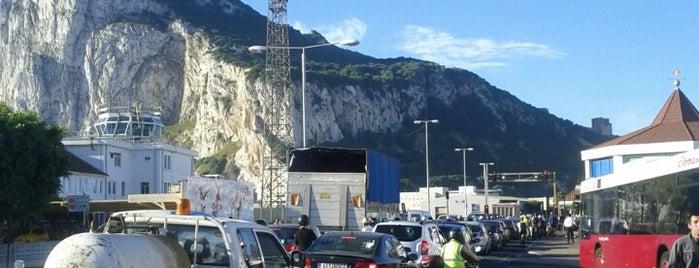 Gibraltar/Spain Border Crossing is one of Posti che sono piaciuti a Maria.