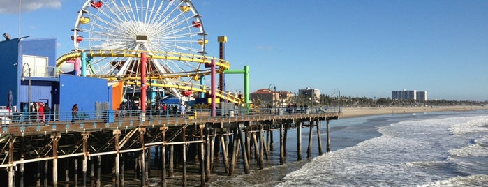 Santa Monica State Beach is one of [To-do] L.A..