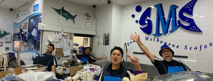South Melbourne Seafoods is one of Nickさんのお気に入りスポット.