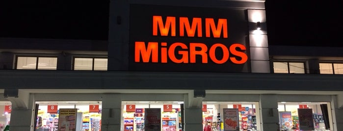 Migros is one of Locais curtidos por Hasan.