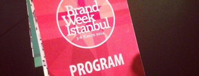 Brand Week Istanbul 2014 is one of Lieux qui ont plu à Bike.