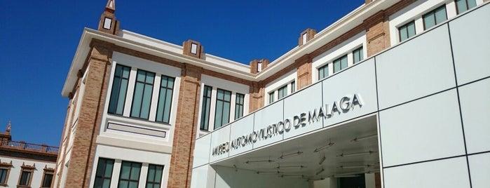 Museo Automovilístico de Málaga is one of Qué visitar en Málaga.