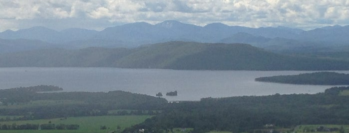 Mt. Philo State Park is one of VT.
