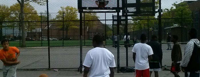 Nostrand Playground is one of Where to play ball — Public Courts.