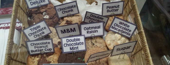 Insomnia Cookies is one of NY.