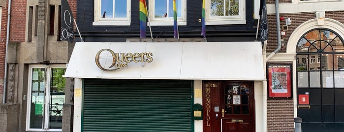 Queers is one of Amsterdam 🇳🇱.