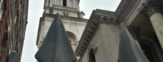 St George's Bloomsbury is one of 1000 Things To Do In London (pt 2).