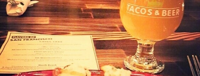 Tacos & Beer is one of Tempat yang Disimpan Preston.
