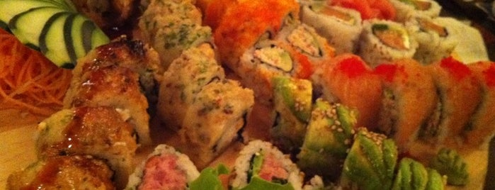 Noe Sushi Bar is one of Lugares favoritos de Jorge.